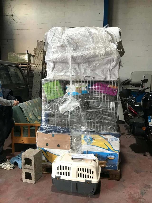 9 Feb - 2 pallets aangekomen bij Canis y Felis 133