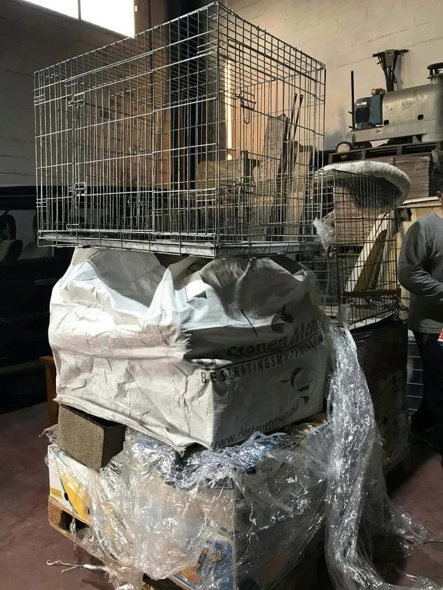 9 Feb - 2 pallets aangekomen bij Canis y Felis 331