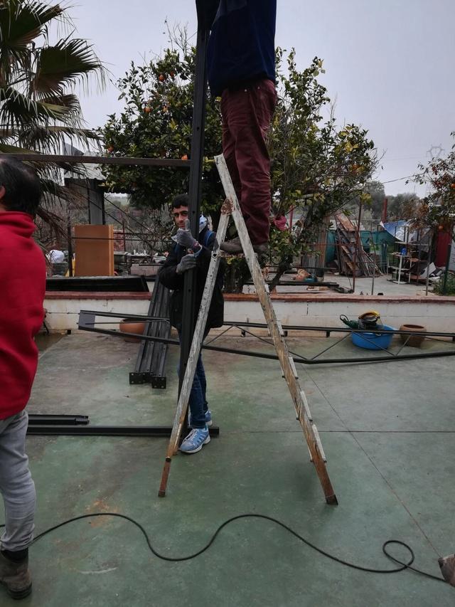 Opbouwen nieuw verblijf honden Palili Img_6013