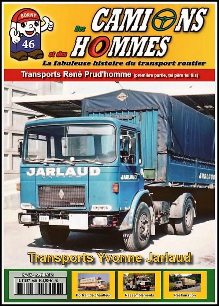 le numéro 46 du magazine des camions et des hommes en kiosque 29472810