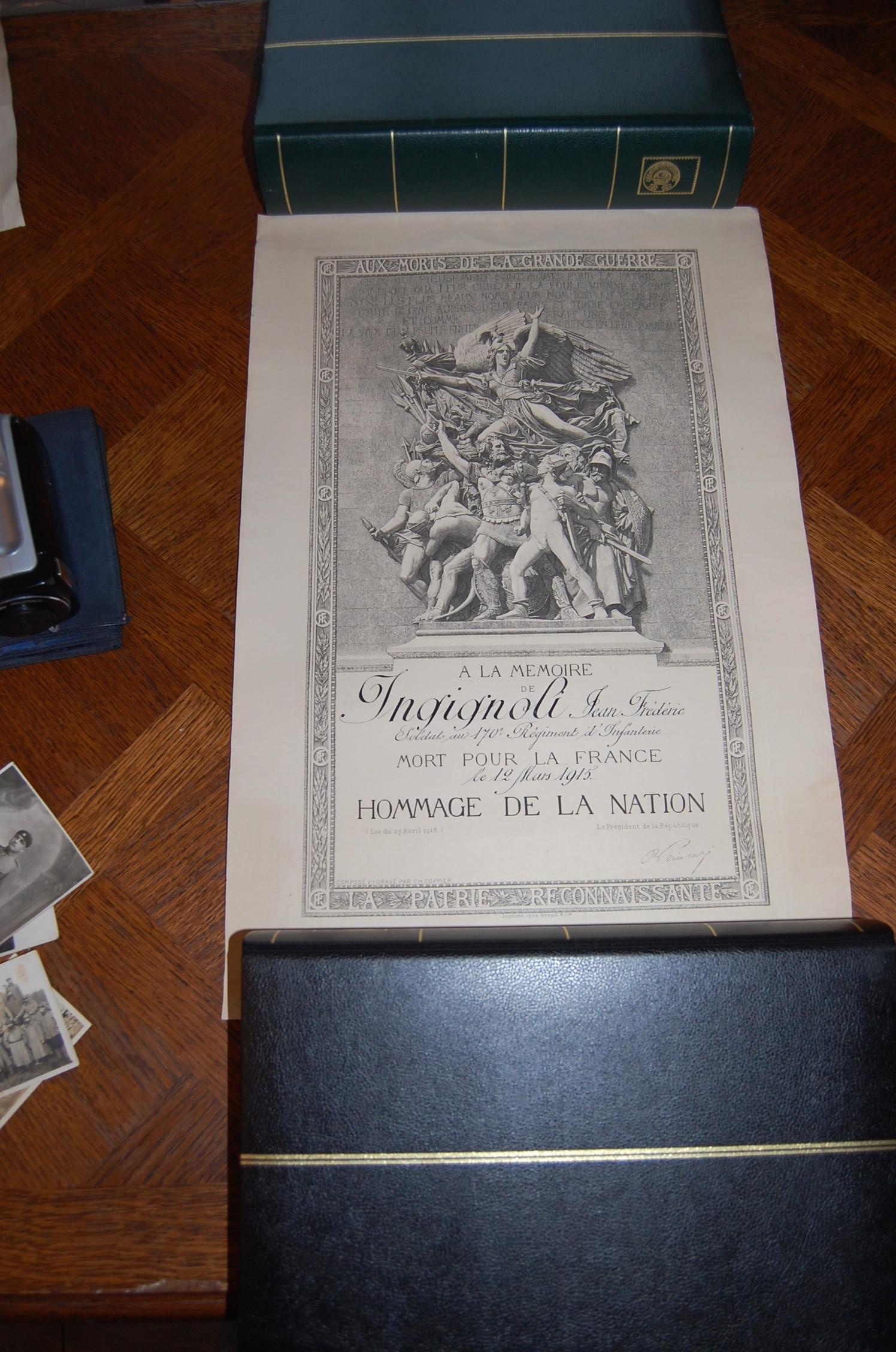 Photos, cartes postales et papier WWI Dsc_1414