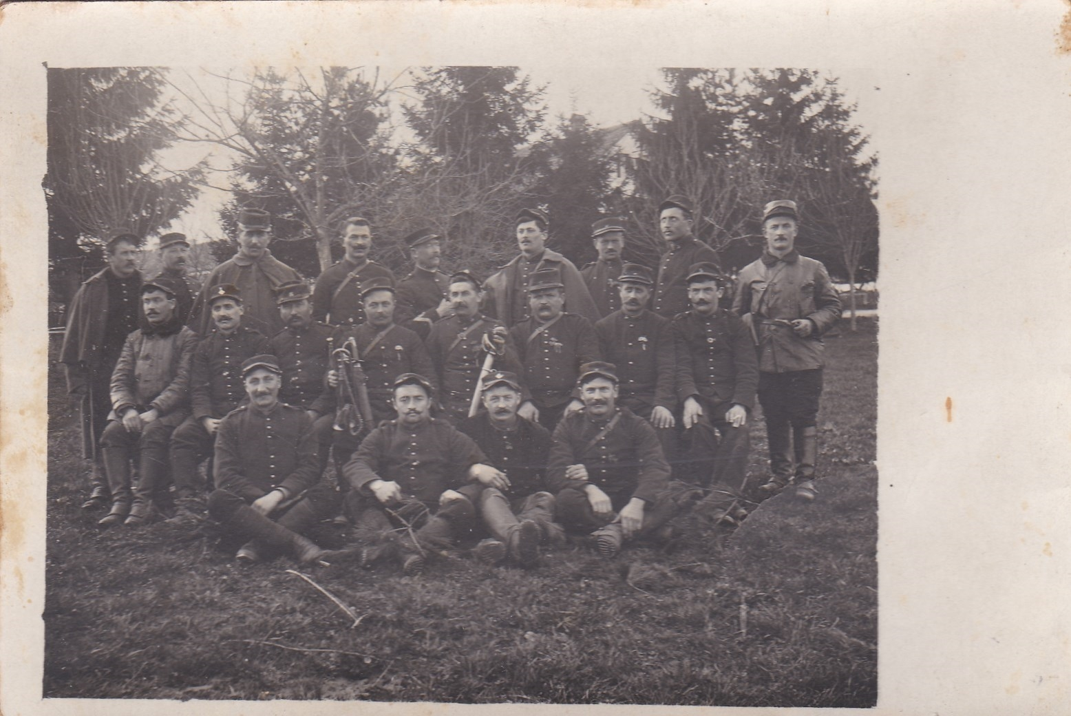Photos, cartes postales et papier WWI Img_2077