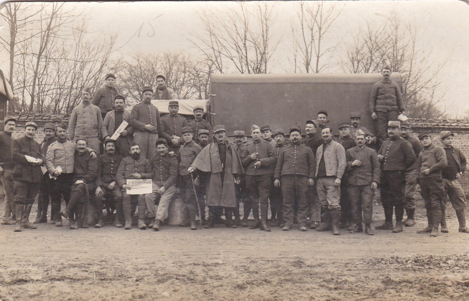 Photos, cartes postales et papier WWI Img_2078