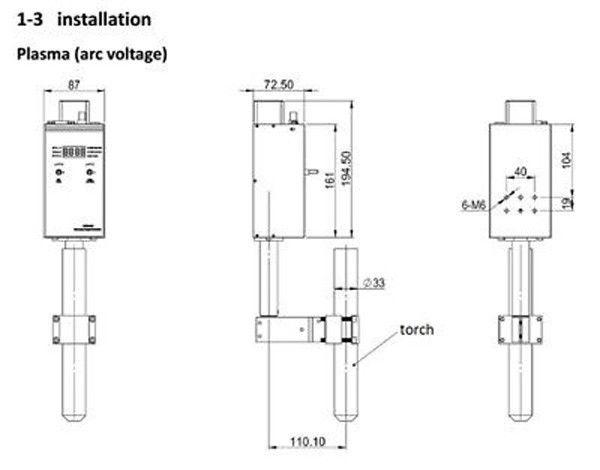 table de découpe cnc plasma _1010