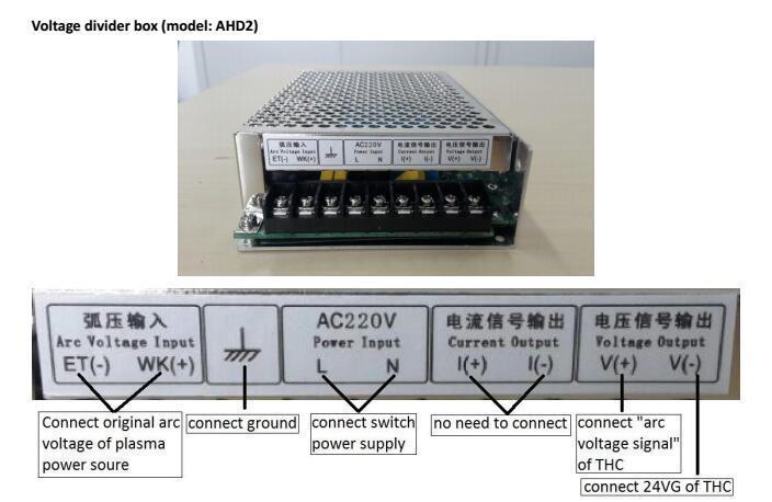 TUTO câblage du THC SH-HC31 sur une CNC plasma _10_410