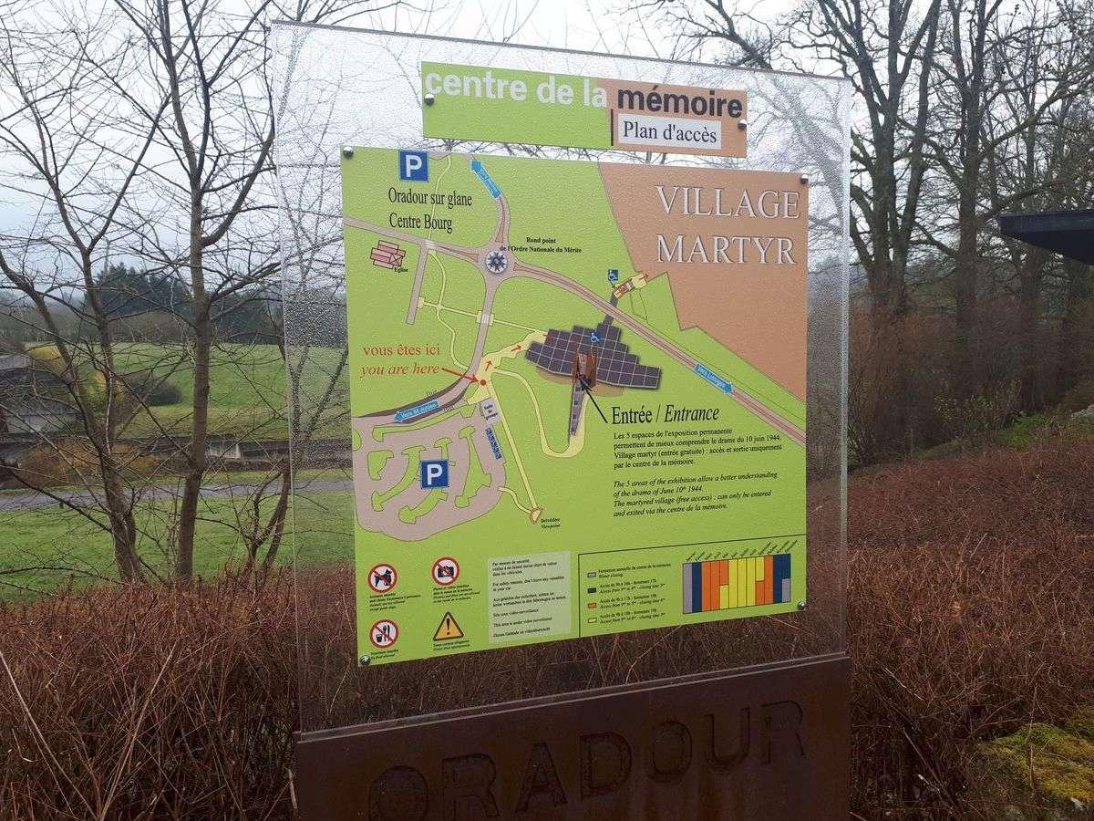 [ Histoire et histoires ]  Voyage pédagogique à Oradour-sur-Glane (87) avec des lycéens de Fouesnant 118