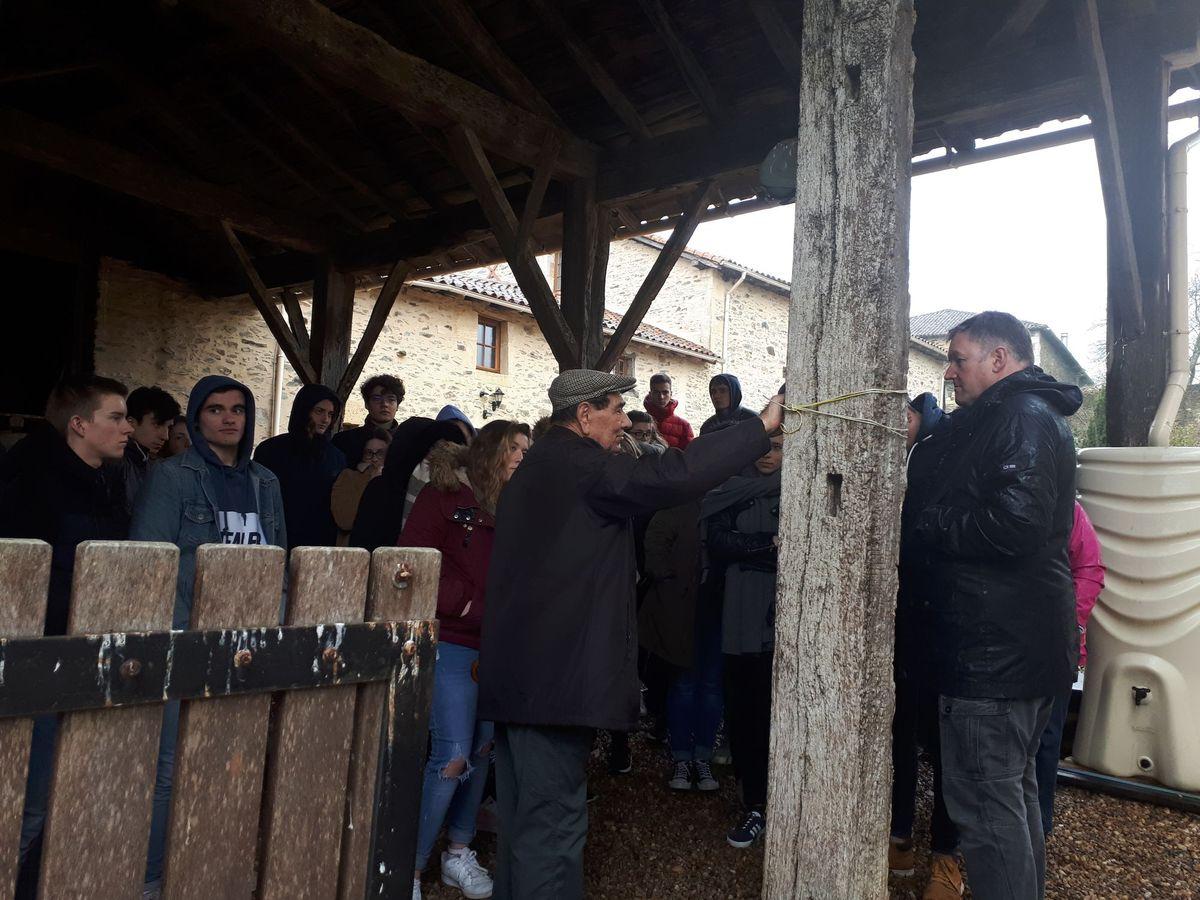 [ Histoire et histoires ]  Voyage pédagogique à Oradour-sur-Glane (87) avec des lycéens de Fouesnant 1215