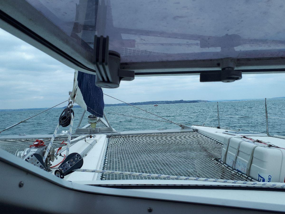 [ Marine à voile ] Catamaran Virginie Hériot voilier de l'Ecole Navale 13_vue10