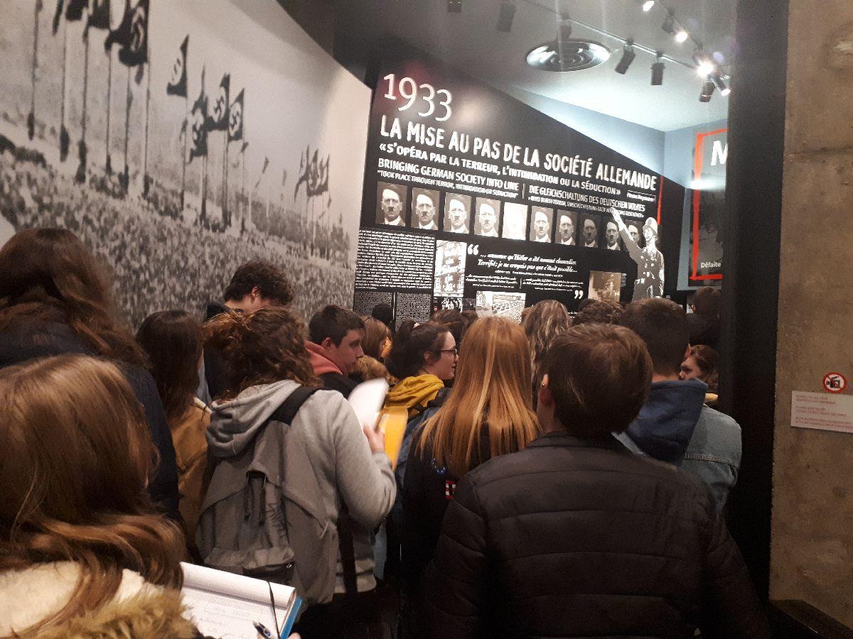 [ Histoire et histoires ]  Voyage pédagogique à Oradour-sur-Glane (87) avec des lycéens de Fouesnant 15_aus10