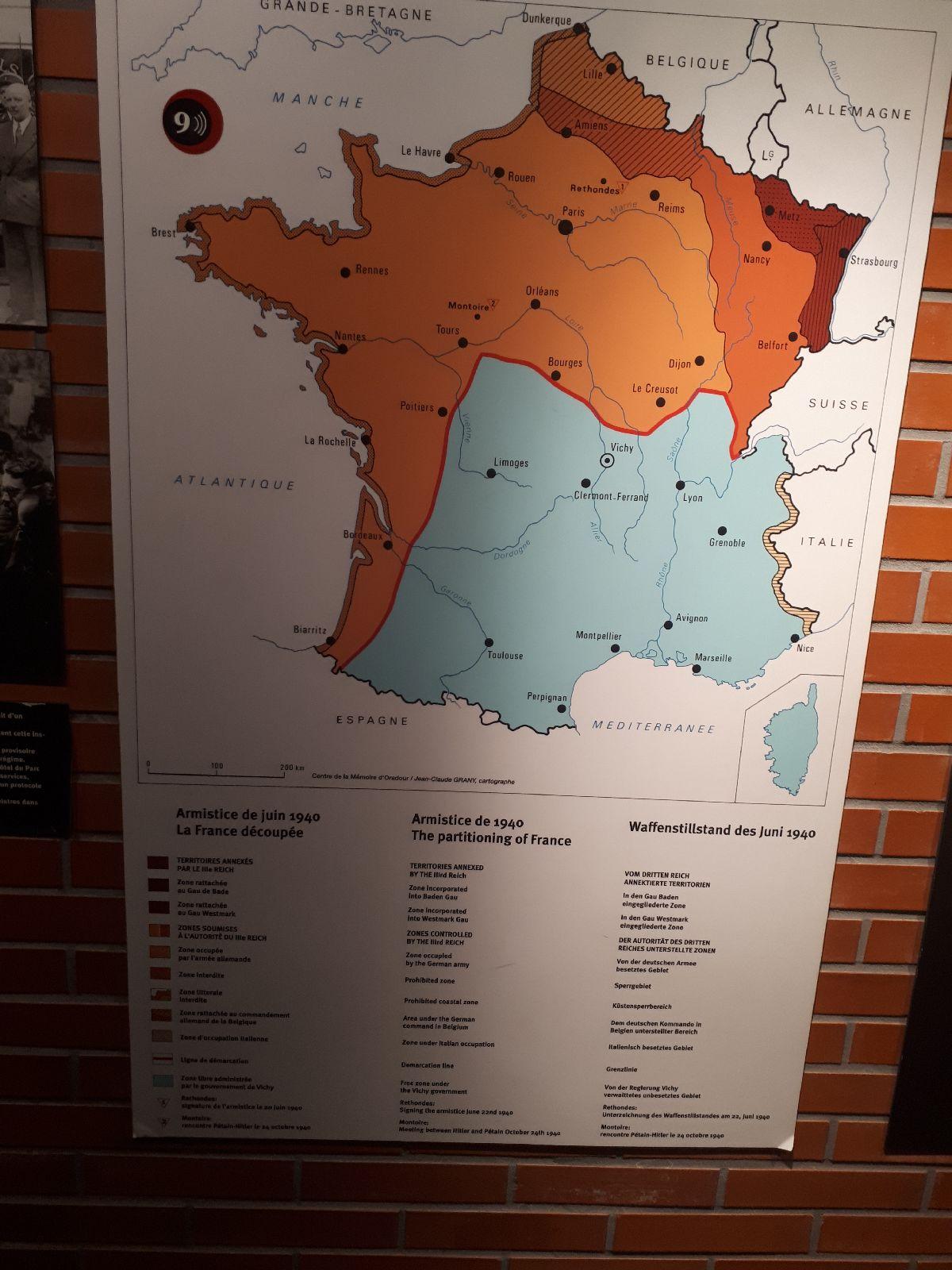 [ Histoire et histoires ]  Voyage pédagogique à Oradour-sur-Glane (87) avec des lycéens de Fouesnant 16_la_10