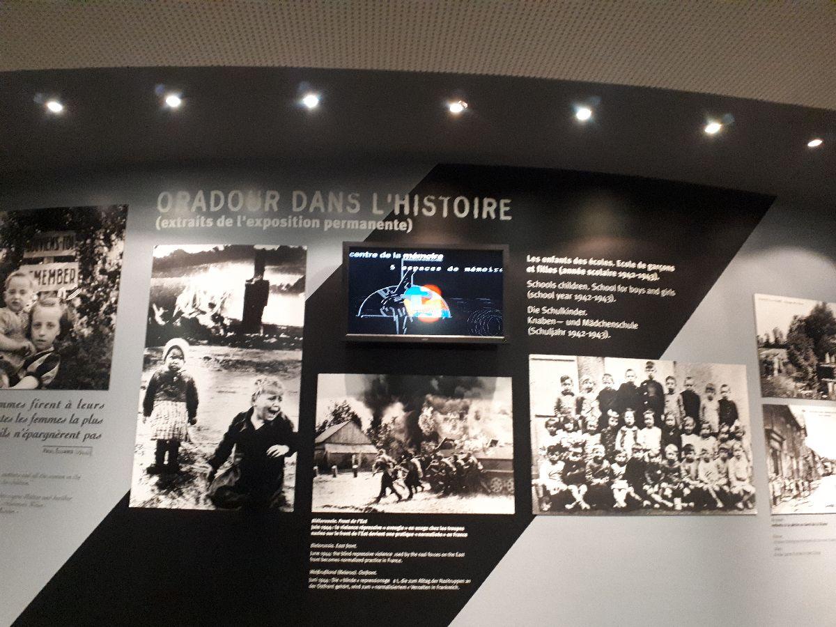 [ Histoire et histoires ]  Voyage pédagogique à Oradour-sur-Glane (87) avec des lycéens de Fouesnant 19_l_h10