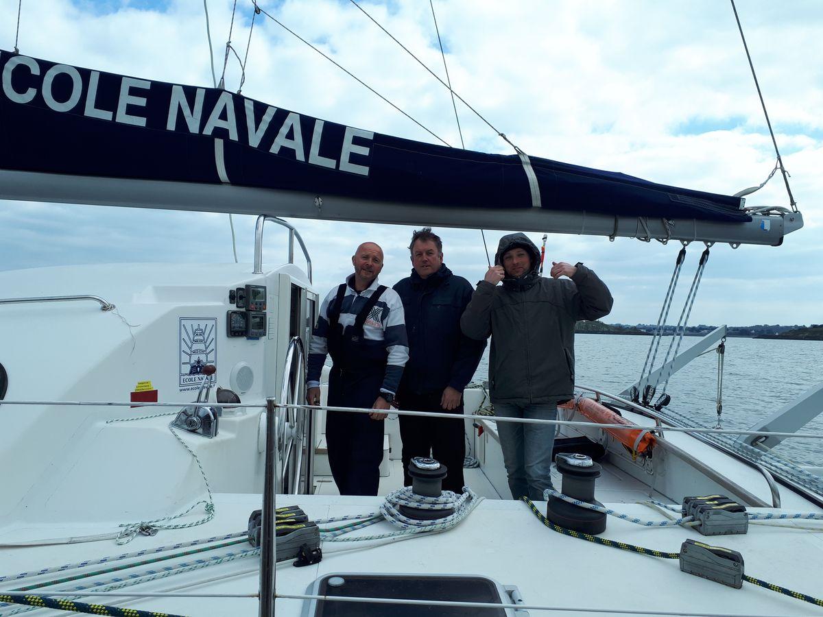 [ Marine à voile ] Catamaran Virginie Hériot voilier de l'Ecole Navale 20180359