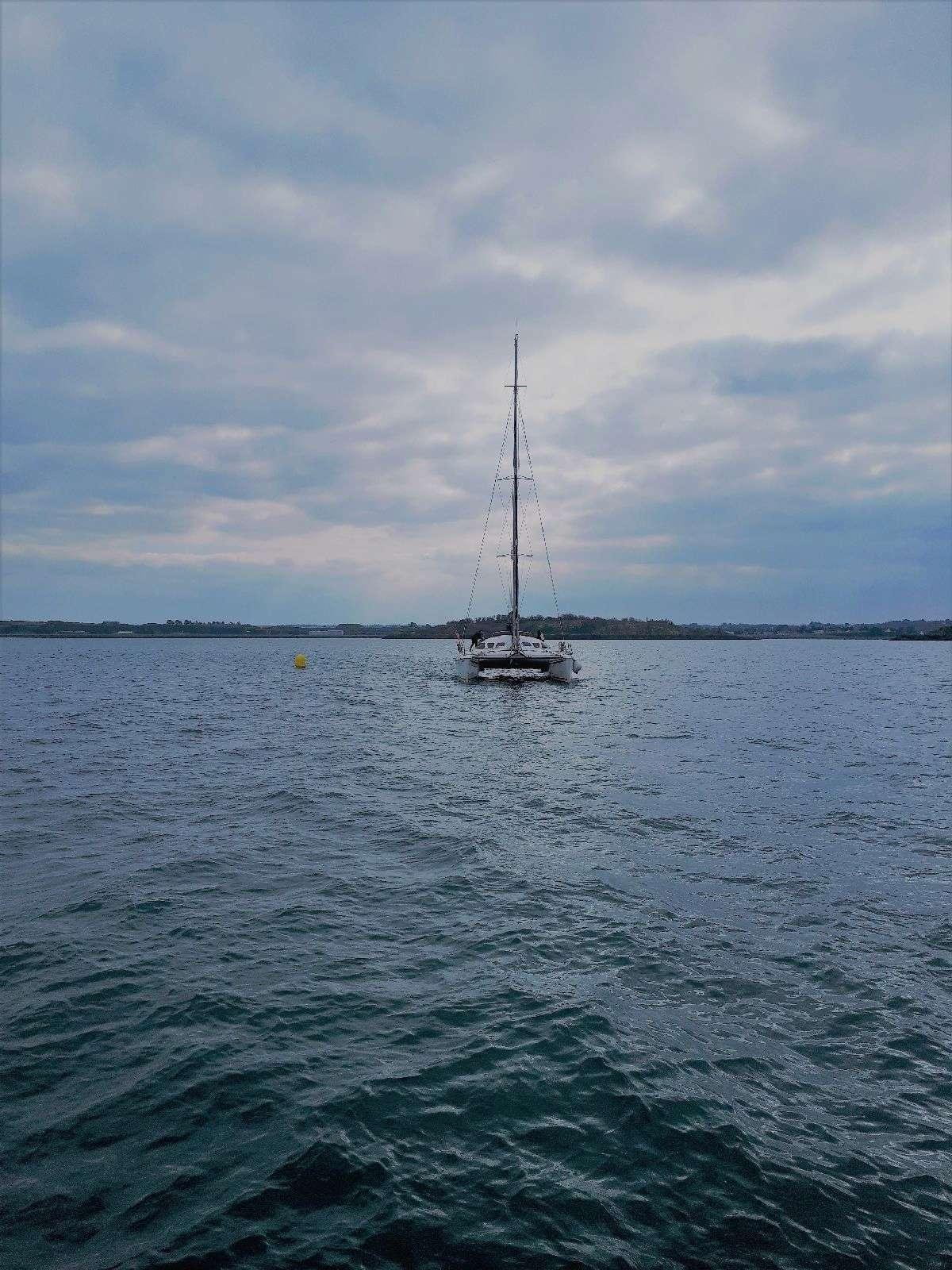 [ Marine à voile ] Catamaran Virginie Hériot voilier de l'Ecole Navale 217