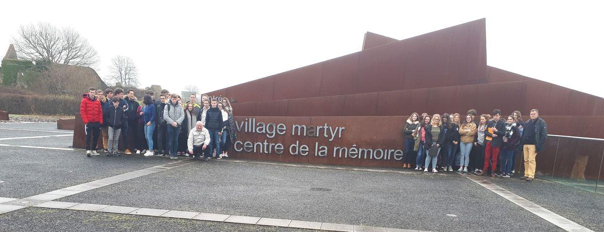 [ Histoire et histoires ]  Voyage pédagogique à Oradour-sur-Glane (87) avec des lycéens de Fouesnant 218
