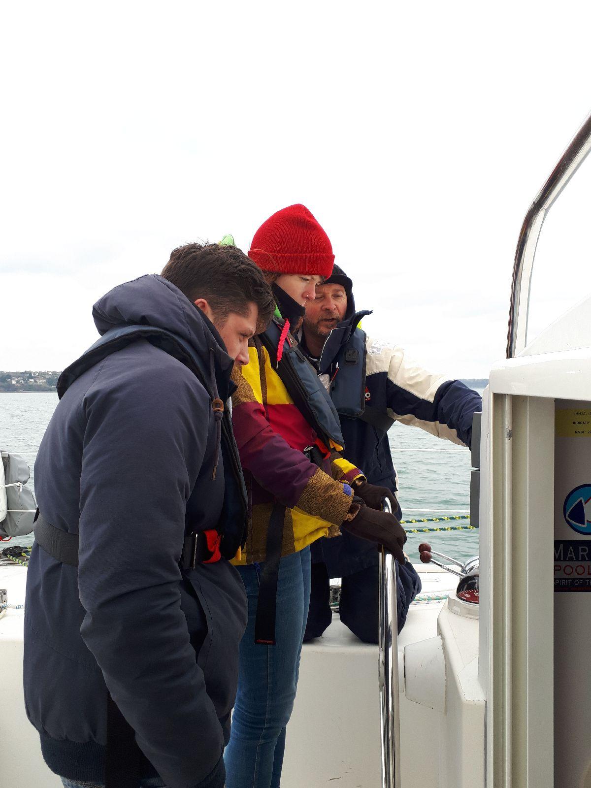 [ Marine à voile ] Catamaran Virginie Hériot voilier de l'Ecole Navale 23_d_a10