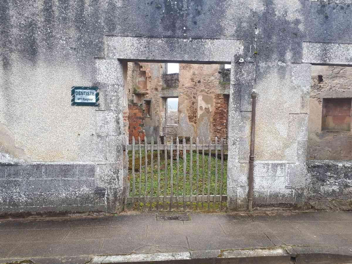 [ Histoire et histoires ]  Voyage pédagogique à Oradour-sur-Glane (87) avec des lycéens de Fouesnant 2612