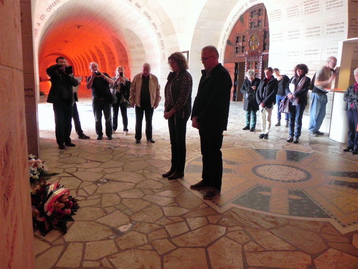 [ Histoire et histoires ] Quelques conseillers Municipaux Fouesnantais en voyage commémoratif 5_ossu10