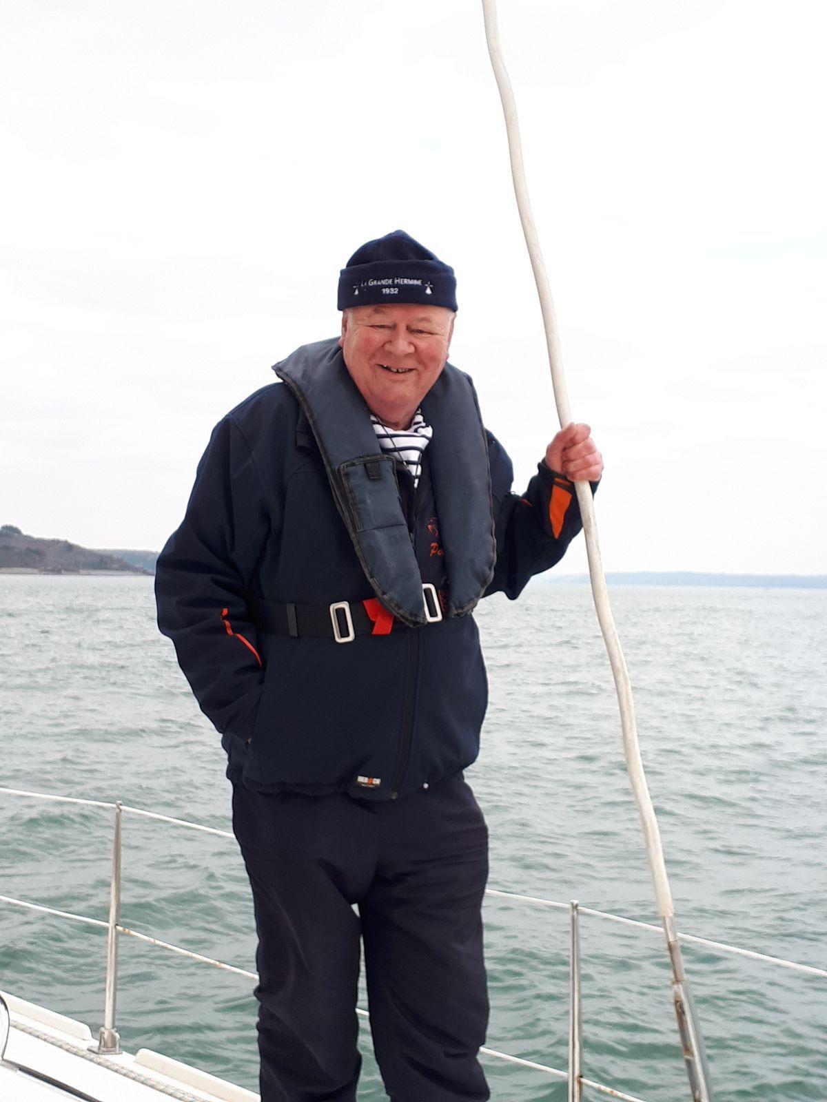 [ Marine à voile ] Catamaran Virginie Hériot voilier de l'Ecole Navale 713