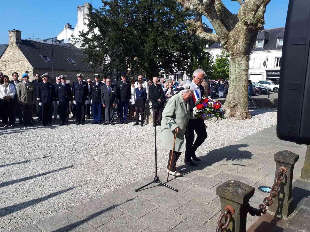 [ Histoires et histoire ] Commémoration du 8 mai 1945 à Fouesnant 7_dypo10