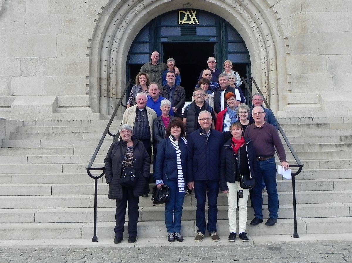 [ Histoire et histoires ] Quelques conseillers Municipaux Fouesnantais en voyage commémoratif 7_phot10