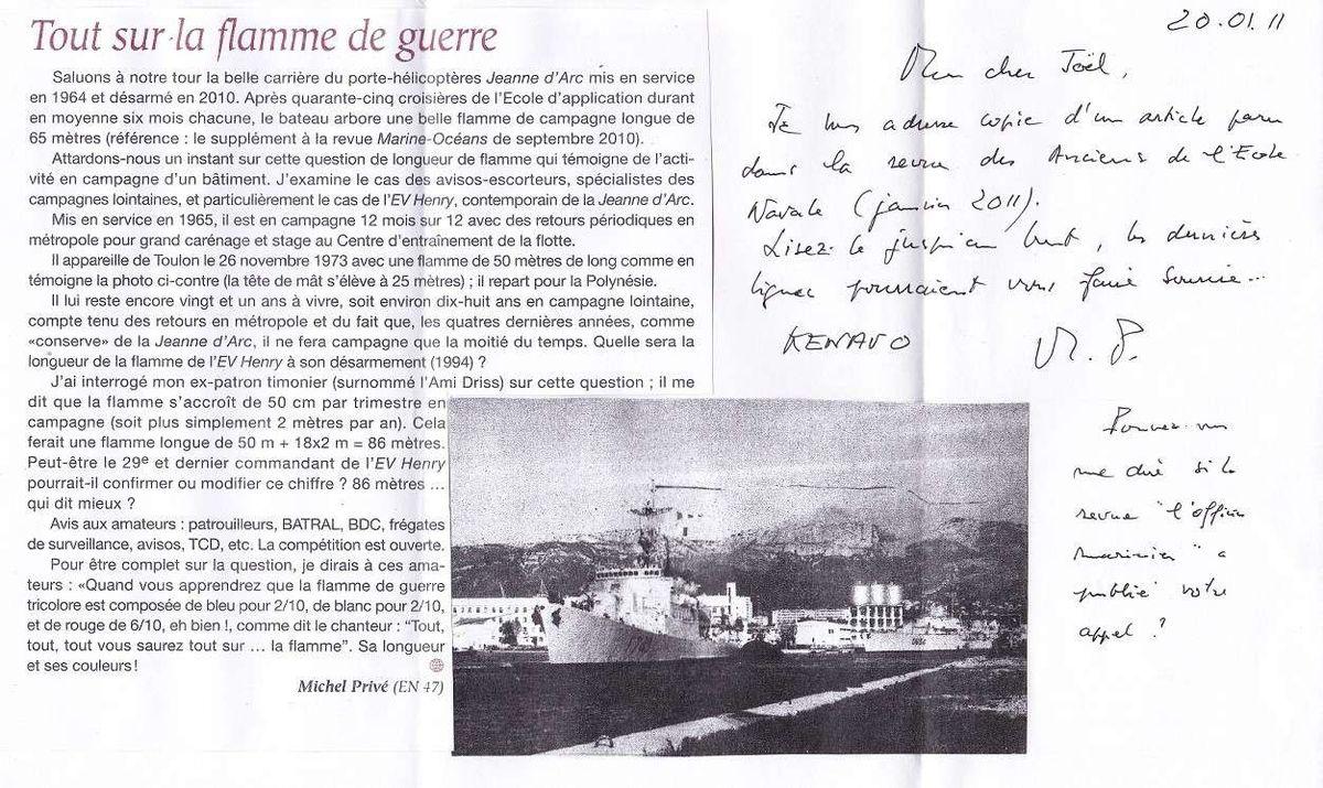 ENSEIGNE DE VAISSEAU HENRY (AE) - Page 3 Henry110