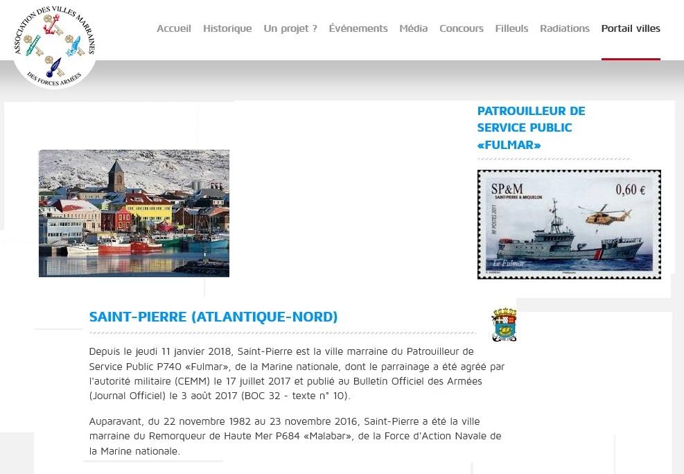 [Les traditions dans la Marine] Les Villes Marraines - Page 11 St_pie10