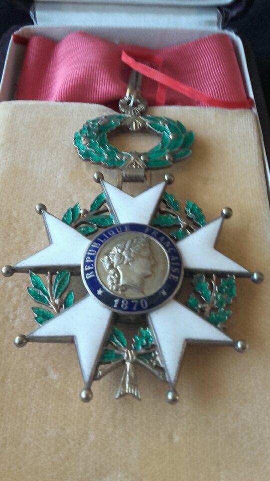 LH 1870 (Légion d'honneur) Officier + Commandeur 31956810
