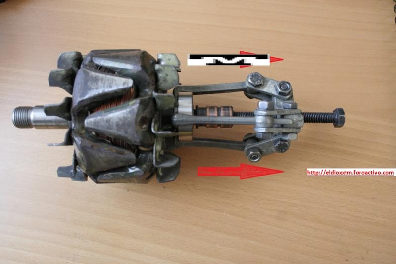 Alternador  Bosch 14 V  de 90 AMP 8nna5510