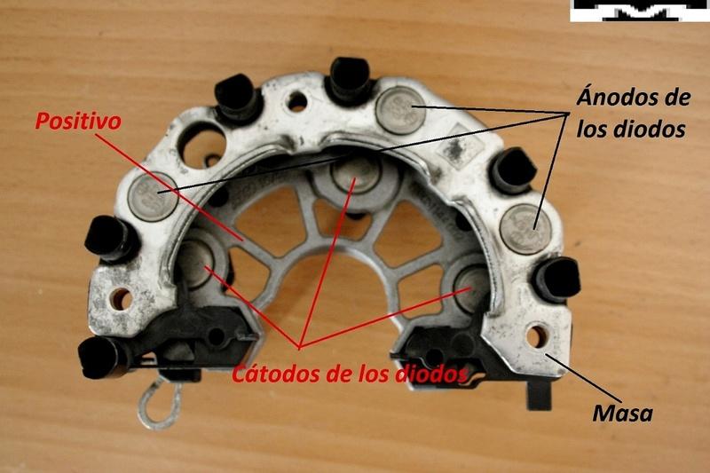 Alternador  Bosch 14 V  de 90 AMP Bnrd2r10