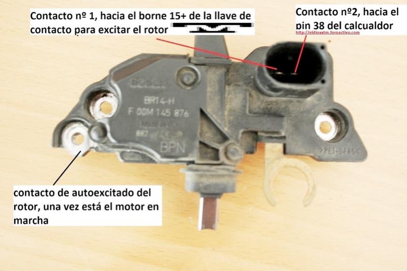 Alternador  Bosch 14 V  de 90 AMP J4vhgi10