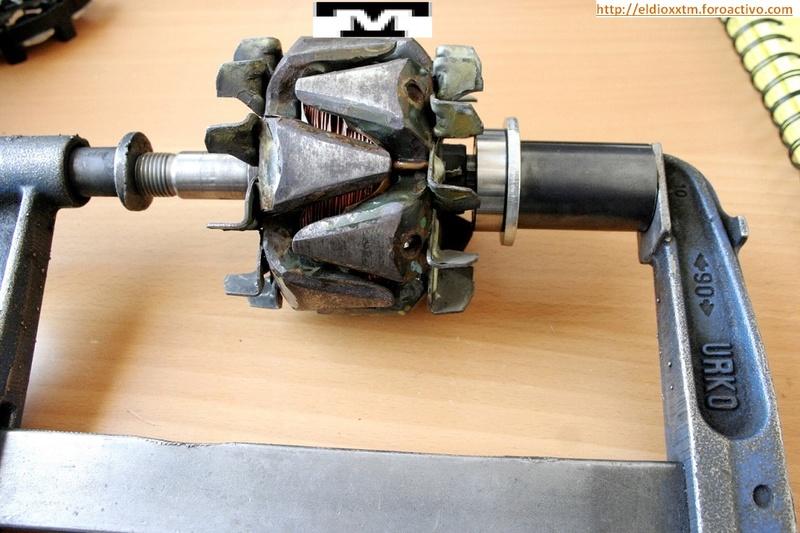 Alternador  Bosch 14 V  de 90 AMP Jbu7cl10