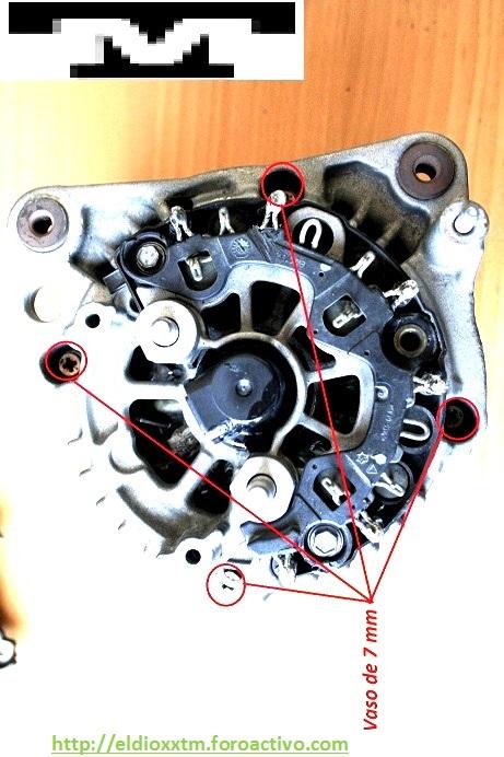 Alternador  Bosch 14 V  de 90 AMP Kofyvp10