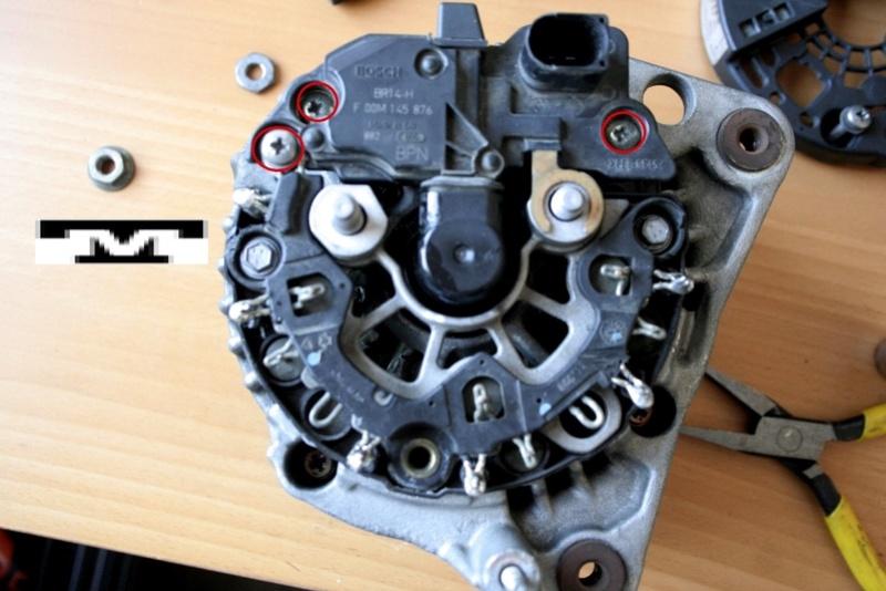 Alternador  Bosch 14 V  de 90 AMP Lsljjg12