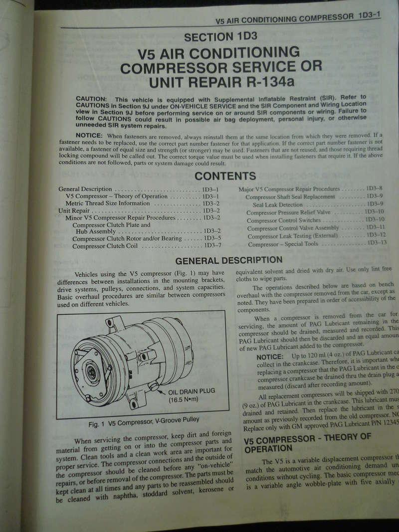 Chevrolet Cavalier  1995/Datos Manual Despiece P1080111