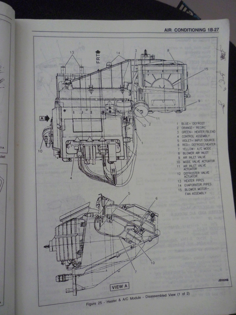 Chevrolet Cavalier  1995/Datos Manual Despiece P1080112