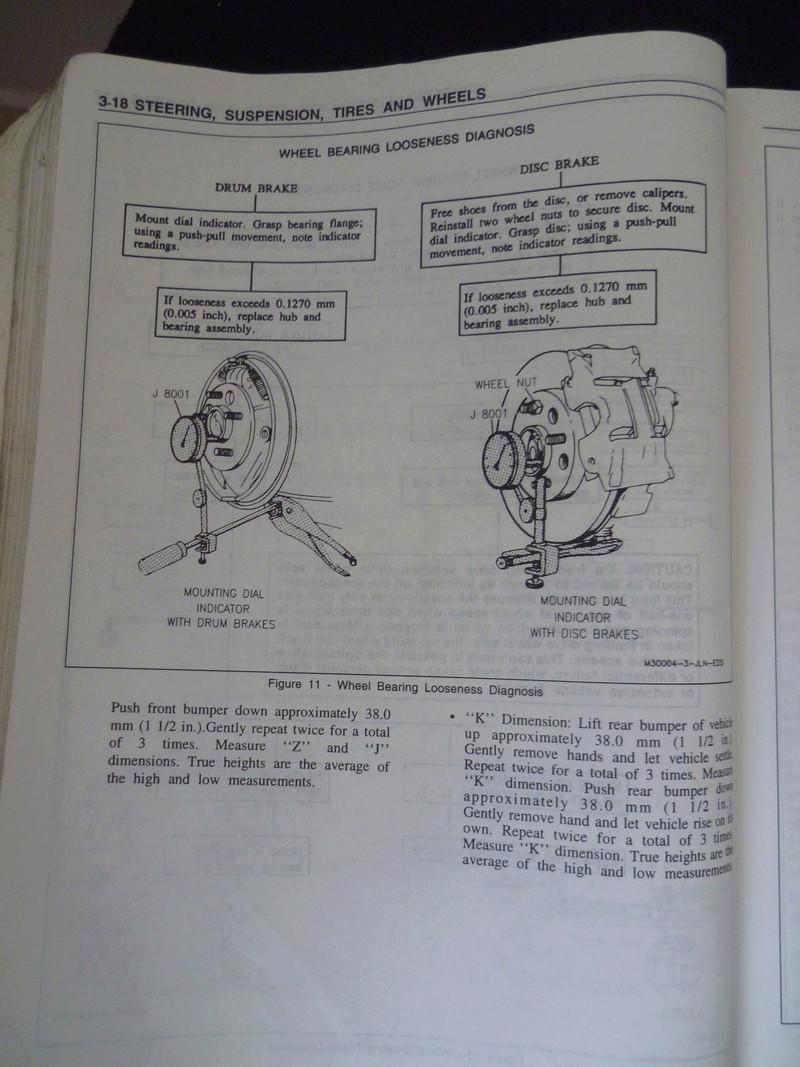 Chevrolet Cavalier  1995/Datos Manual Despiece P1080119