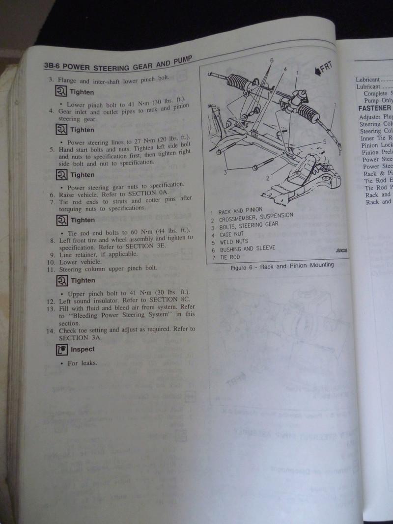 Chevrolet Cavalier  1995/Datos Manual Despiece P1080123