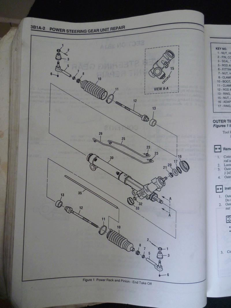 Chevrolet Cavalier  1995/Datos Manual Despiece P1080124