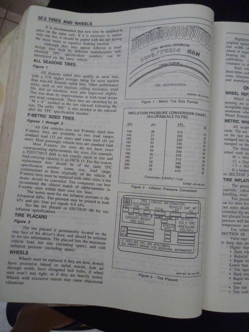 Chevrolet Cavalier  1995/Datos Manual Despiece P1080131