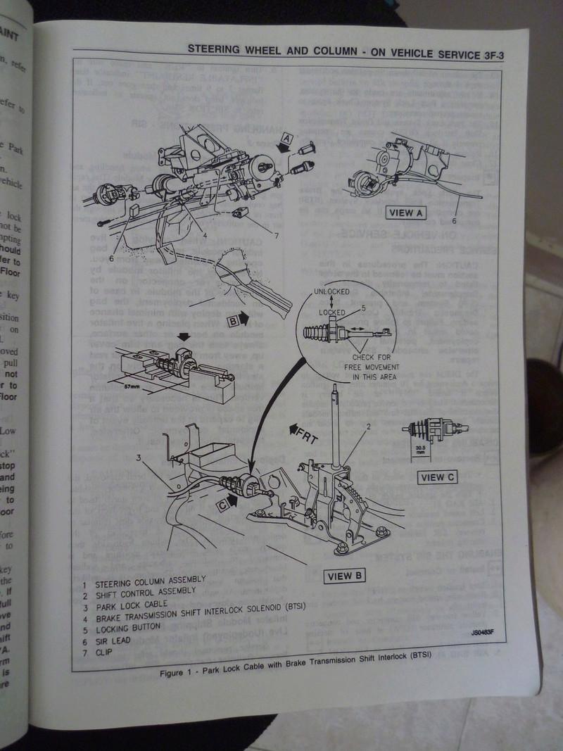 Chevrolet Cavalier  1995/Datos Manual Despiece P1080132