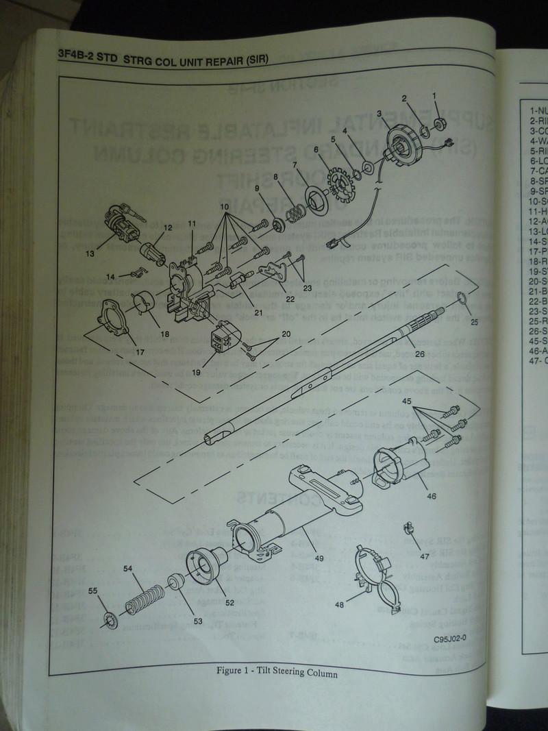 Chevrolet Cavalier  1995/Datos Manual Despiece P1080133
