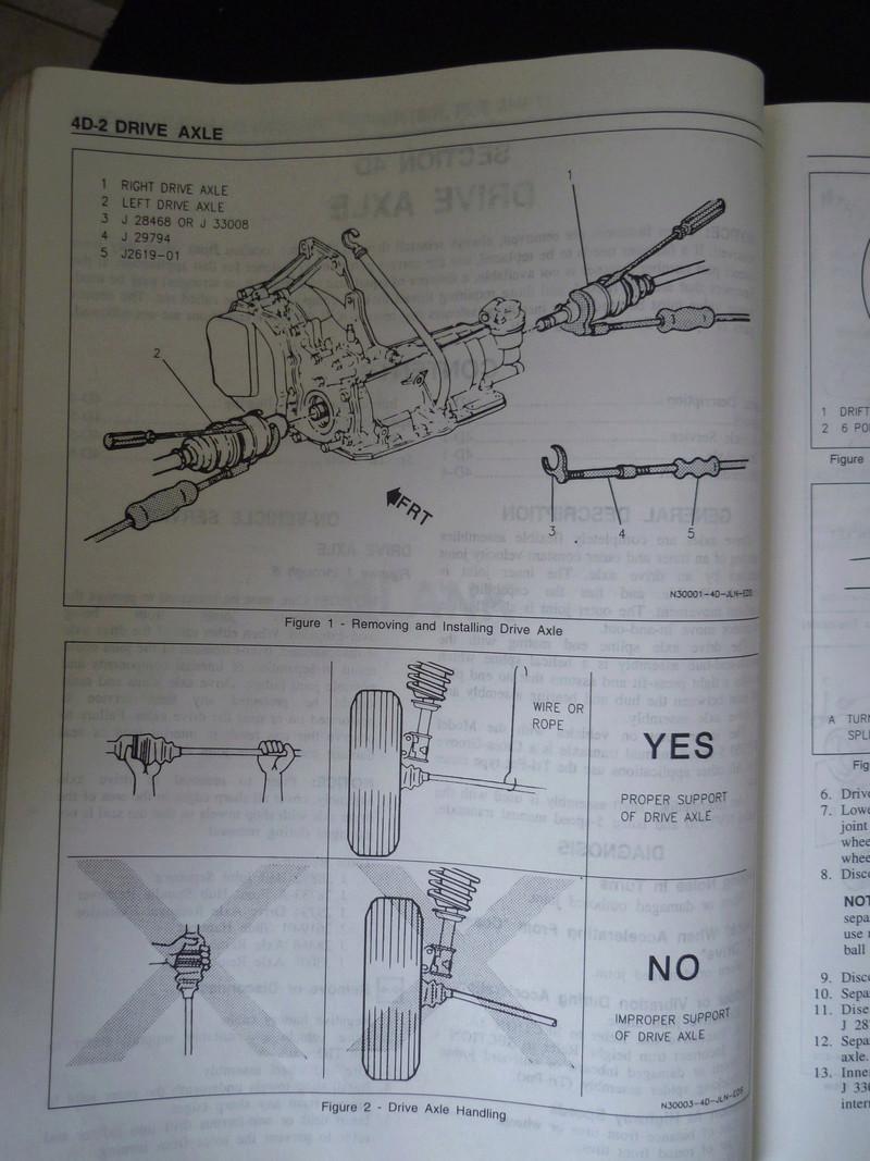 Chevrolet Cavalier  1995/Datos Manual Despiece P1080135