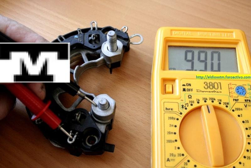 Alternador  Bosch 14 V  de 90 AMP T27va410