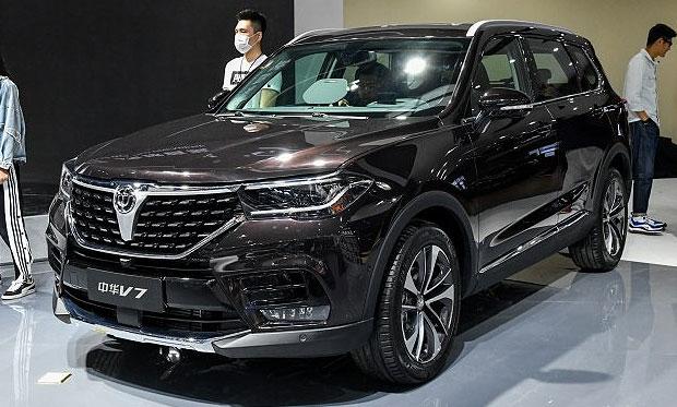 Novedades en el salón del automóvil de Beijing V7-110