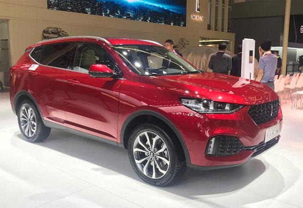 Novedades en el salón del automóvil de Beijing Vv6-110