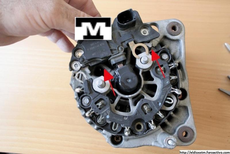 Alternador  Bosch 14 V  de 90 AMP Xjyyug11