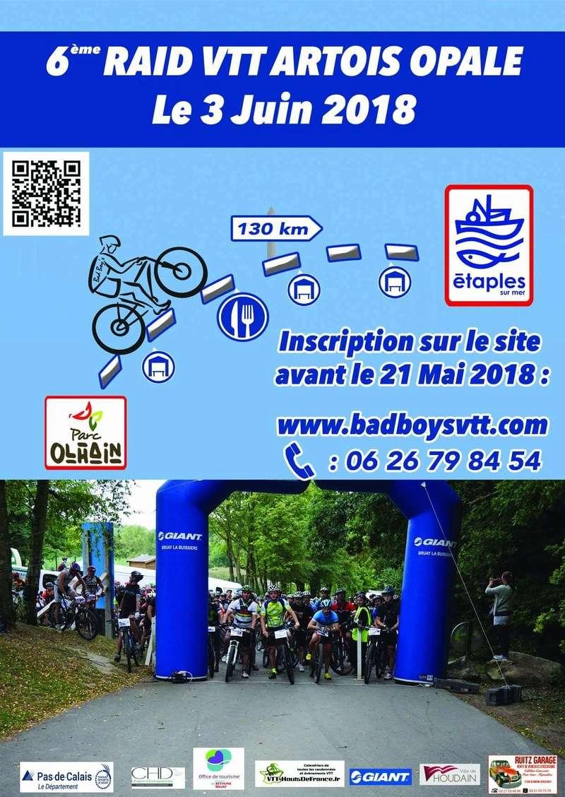 6e Raid VTT Artois Opale 3 juin 2018 130 km, entre 1000 et 1300 de D+ Fb_img15