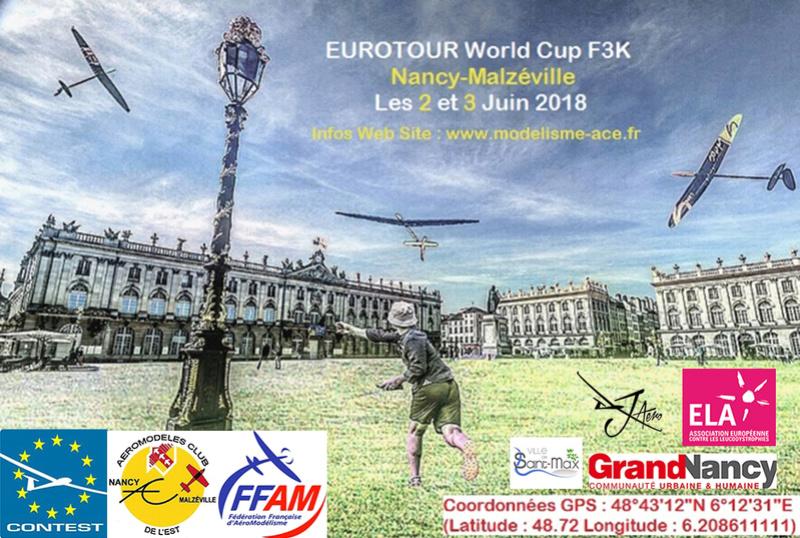 EUROTOUR F3K Nancy 2018 Affich11