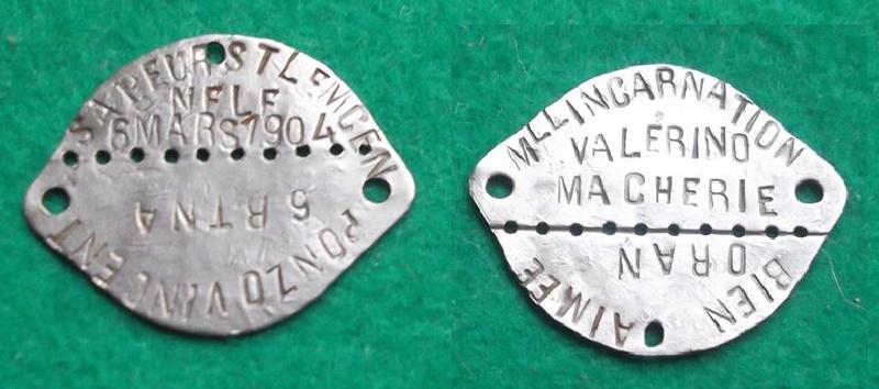 Plaque identite modele 1918 Valeri10
