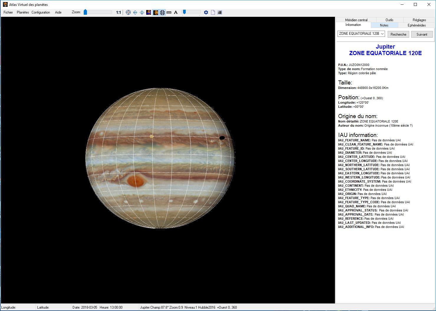 Petit Tuto : L'atlas Virtuel des Planètes Atlas110